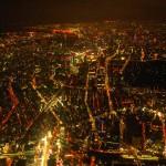 空撮で夜景を撮るためのレンズの選び方とカメラの設定について