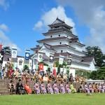 会津祭りの会津藩公行列 ルートと見どころを紹介、芸能人や行列を見るならここ!!