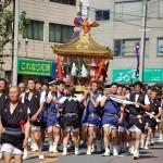 長崎くんち 傘鉾パレードと諏訪神社の神輿の行列ルートとみどころ、ここは抑えておきたい!!