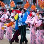 長崎くんちの奉納踊りの場所、桟敷席の値段、庭先周りスケジュール