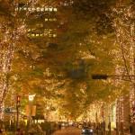 丸の内イルミネーションの最寄り駅と場所、見どころの混雑状況と点灯期間、クリスマスは大混雑!東京駅周辺のイルミネーションは?